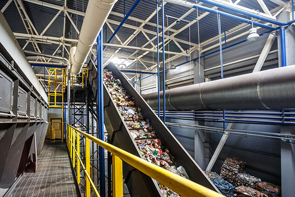 Recycling-Plant